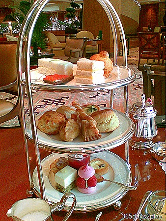 Afternoon Tea at Regent Hotel - The 3 tier stand