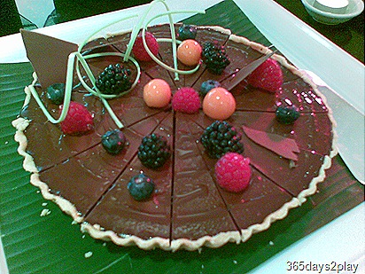 Berry Chocolate Tart