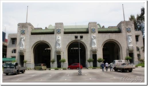 Tanjong Pagar Railway Station Facade