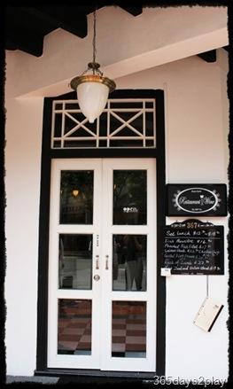 Black Earth front door