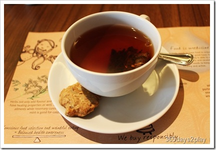 Cedele Ginger Rose Tea