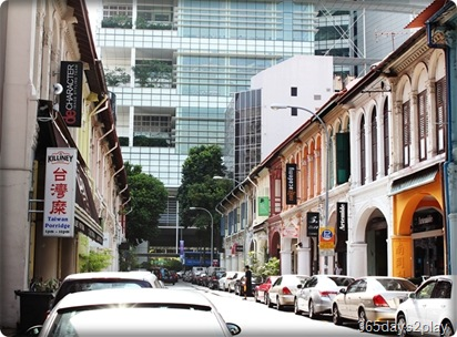 Purvis Street Shophouses, Restaurants and Cafes