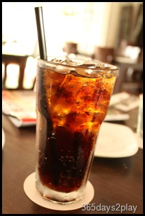 RidersCafe - Glass of Coke