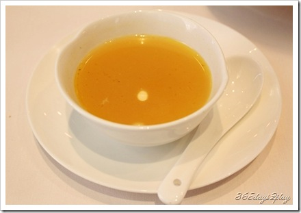 Royal China double boiled pumkin soup