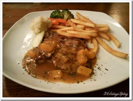 Bobby's Grilled Pork Chop
