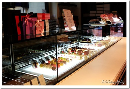 Canele sweet treat counter