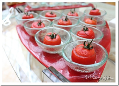 Chihuly Stuffed Vine Tomatoes