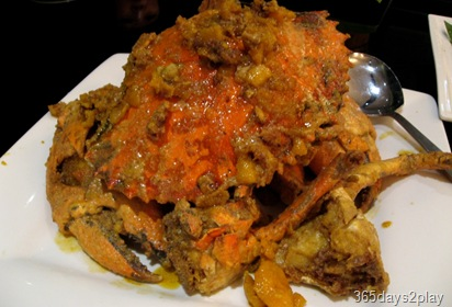 PalmBeach salted egg yolk crab