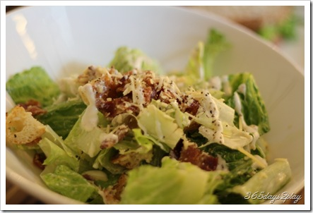 Room - Caesar Salad smoked chicken