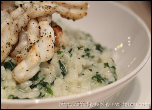 Cafe Epicurious - Grilled Seafood Risotto (2)