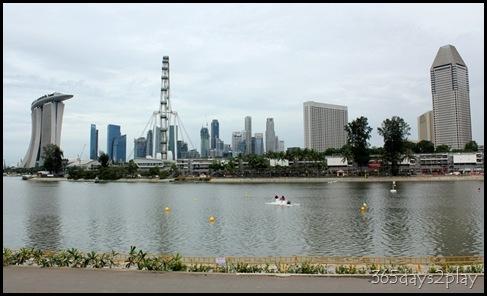 Marina Reservoir Backdrop