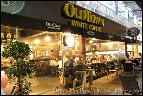 Old Town White Coffee Cafe at Big Splash