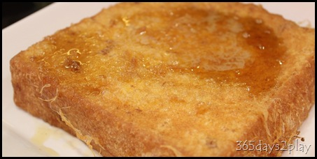 Sun Coffee Planet - French Toast with syrup and butter
