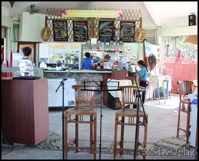 Sunset Bay Ordering Area