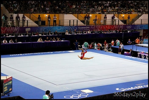 YOG Gym Indiv Apparatus Finals - Jessica Hogg on Floor