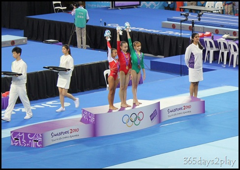 YOG Gym Indiv Apparatus Finals - Women's Floor Medallists
