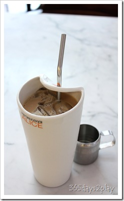 Max Brenner - Iced Cafe Latte