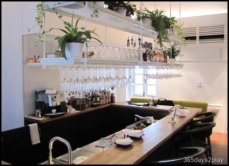 Cafe Fables bar counter