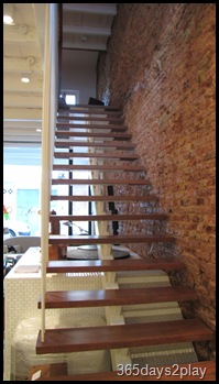 Cafe Fable Stairs