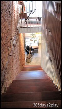 Cafe Fables stairs