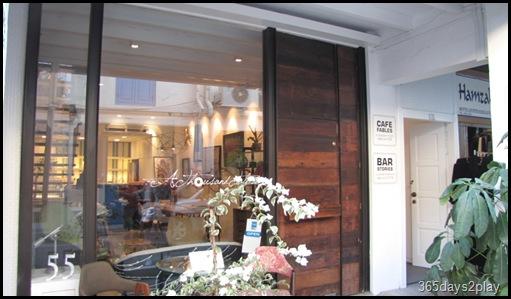 Cafe Fables shop front