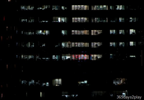 Office Workers working at night