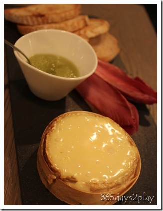 The Disgruntled Chef - Baked Camembert Fondue
