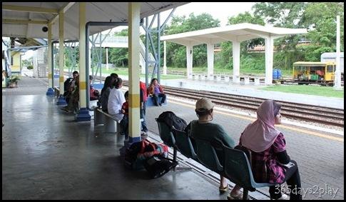 Kluang Railway Station - Railway  Tracks (2)