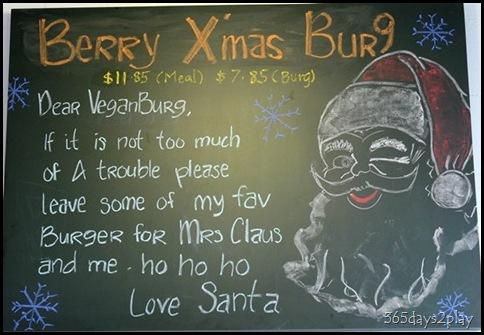 VeganBurg Santa