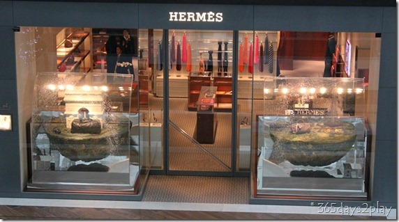 Marina Bay Sands Mall Hermes