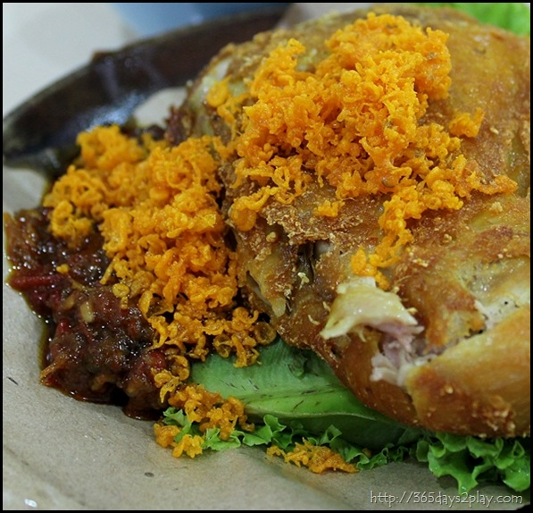 Ayam Penyet with Beancurd and Tempeh (2)