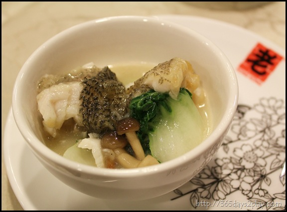 Braised Soon Hock Fish with Shark's Bone Cartilage Soup