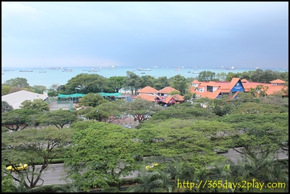 East Coast Park Aerial View