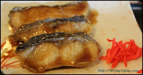 Himawari - Grilled Cod Fish