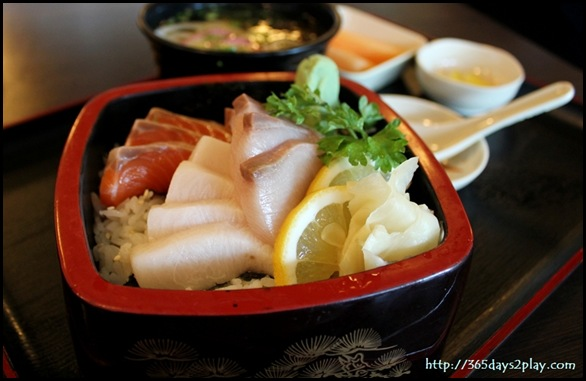 Himawari - Sashimi Rice box