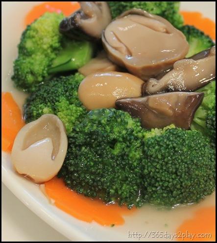 Man Chu Restaurant Broccoli