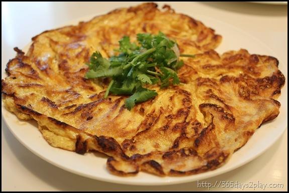 Man Chu Restaurant Fried Omelette