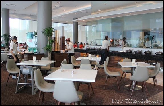Man Chu Restaurant Seating Area