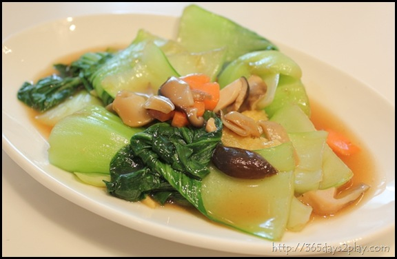 Man Chu Restaurant Stir Fried Vegetables