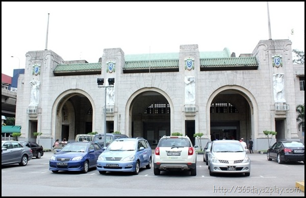 Tanjong Pagar Railway Station Front Entrance