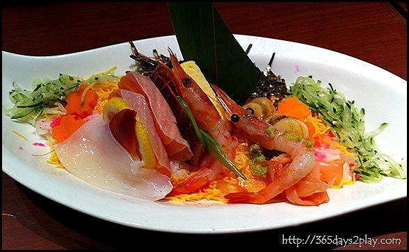 Watami - Mixed Sashimi Rice