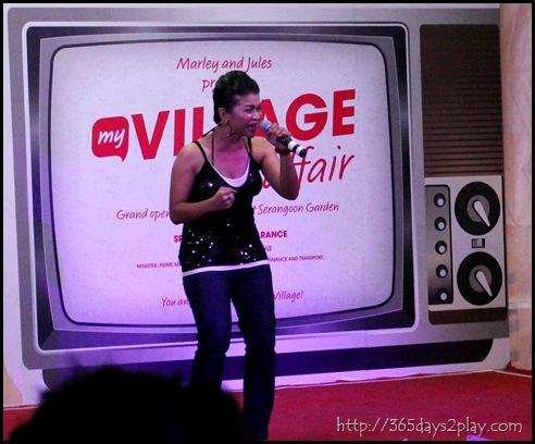 myVillage Opening Ceremony - Singapore Idol Finalist NANA