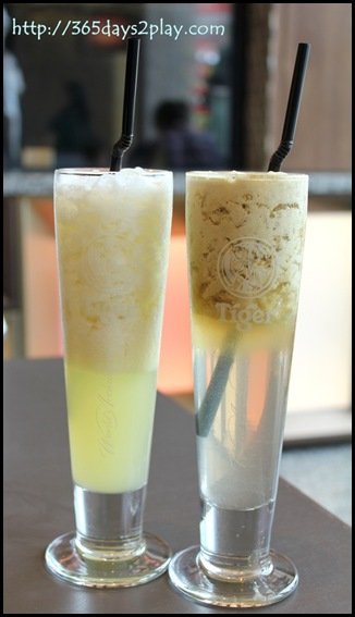Baits Restaurant - Honeydew Juice and Apple Juice