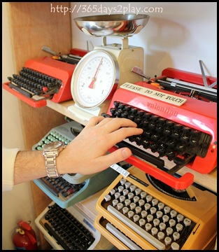 Books Actually - Do not touch the typewriters!