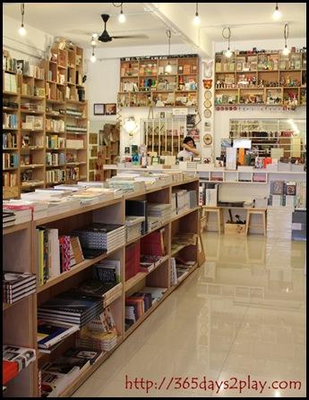 Books Actually Interior of Shop