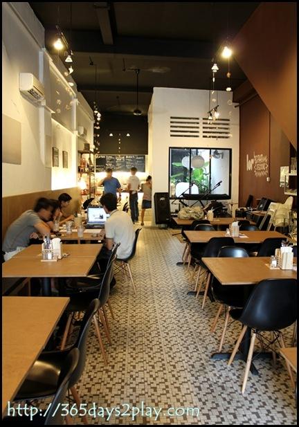Broun Cafe Seating Area