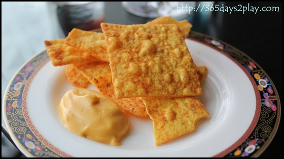 Conrad Executive Lounge Chips and Cheese Dip (2)