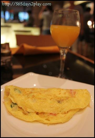 Conrad Oscars Omelette