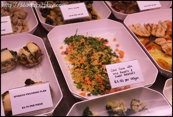 Da Paolo - Couscous with Rocket and Sweet Potato