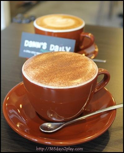 Dann's Pescetarian Cafe - Hot Chocolate